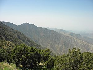 Asir Mountains - Vicinity of Jabal Sawda