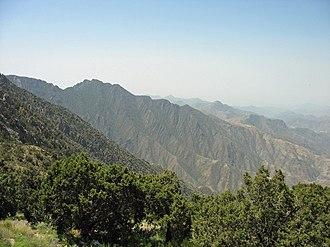 Sarawat Mountains - Image: Al Sawda peak