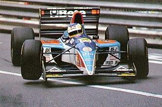 1994 Monaco Grand Prix - Michele Alboreto finished sixth in his Minardi, scoring his last point in Formula One.