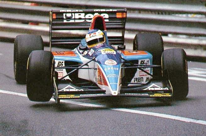 Alboreto at Monaco Grand Prix 1994