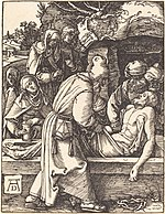 Albrecht Dürer, The Deposition, probably c. 1509-1510, NGA 6778.jpg