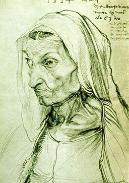 Albrecht Duerer, Bildnis seiner Mutter