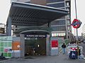 Aldgate East stn southwest entrance.JPG
