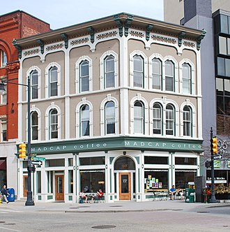 National Register of Historic Places listings in Kent County, Michigan - Image: Aldrich Building Grand Rapids MI