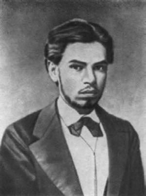 Aleksandr Lyapunov - Aleksandr Lyapunov in 1876