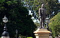 Alex Forrest statue from bus.JPG