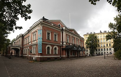 How to get to Aleksanterin Teatteri with public transit - About the place