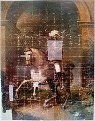 Портрет Александра I верхом на коне (картина Доу)