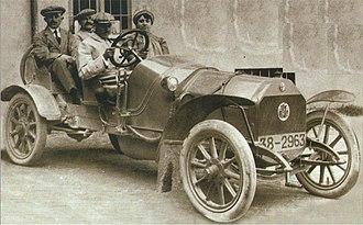 Alfa Romeo Portello Plant - Image: Alfa 12 hp