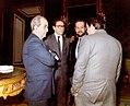Alfonso Guerra con los ministros de Asuntos Exteriores, Cultura y Agricultura, en el Congreso de los Diputados.jpeg