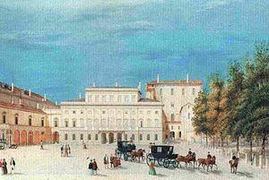 Giuseppe Alinovi - Palazzo della Pilotta.