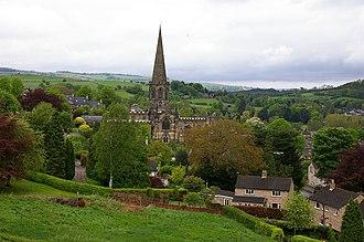 Parish (Church of England) - All Saints Bakewell, a parish church in Derbyshire