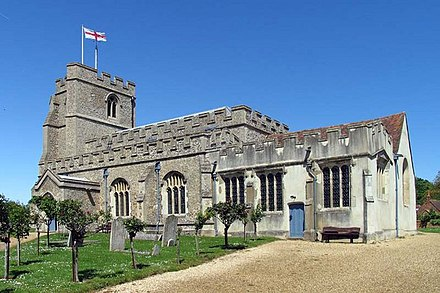 At the      Census the population of the civil parish was        Indeed  she was baptised in the All Saints church in St Paul     s Walden