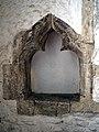 All Saints Church West Stourmouth Kent England ~ chancel piscina.jpg