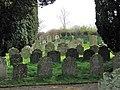 All Saints church - churchyard - geograph.org.uk - 1549836.jpg