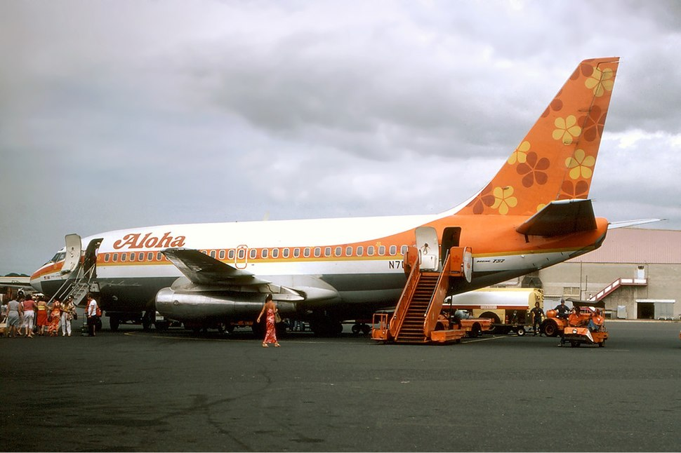 Aloha Airlines Boeing 737-200 Silagi-1