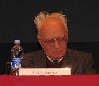 Alojz Rebula Slovenian writer