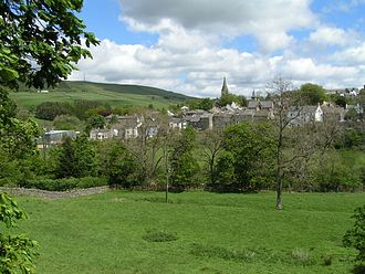 Alston, Cumbria - Alston from the west