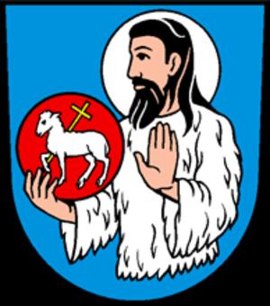 Alt St. Johann - Image: Alt Sankt Johann coats of arms