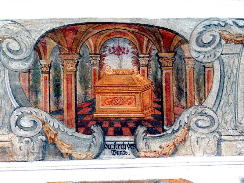 Zavjetni kovčeg  800px-Altenmarkt_Kapelle_-_Bundeslade