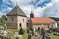 Althofen Friedhofsteig Friedhof gotischer Karner und Filialkirche hl Caecilia 24062015 5158.jpg