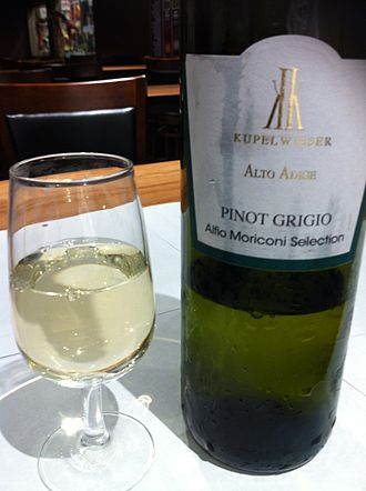 Pinot gris - An Italian Pinot grigio from the Alto Adige region.