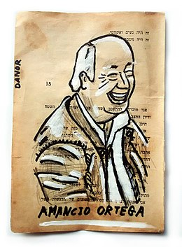 Amancio Ortega Portrait Painting Collage By Danor Shtruzman.jpg