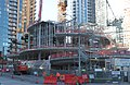 Amazon Tower II biospheres under construction (23516704182).jpg