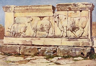 Ambarvalia - Ambarvalia sacrifice relief.