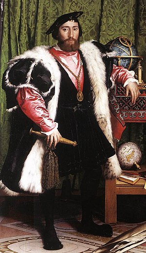 Jean de Dinteville - Detail from The Ambassadors