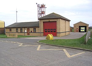 Northumberland Fire and Rescue Service - Amble fire station