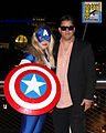 American Dream and Michael de la Force at Comic-Con International in San Diego, California, July 11, 2015.jpg