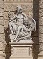 Amerika (Kundmann) at the main risalit of the Naturhistorisches Museum 5145.jpg