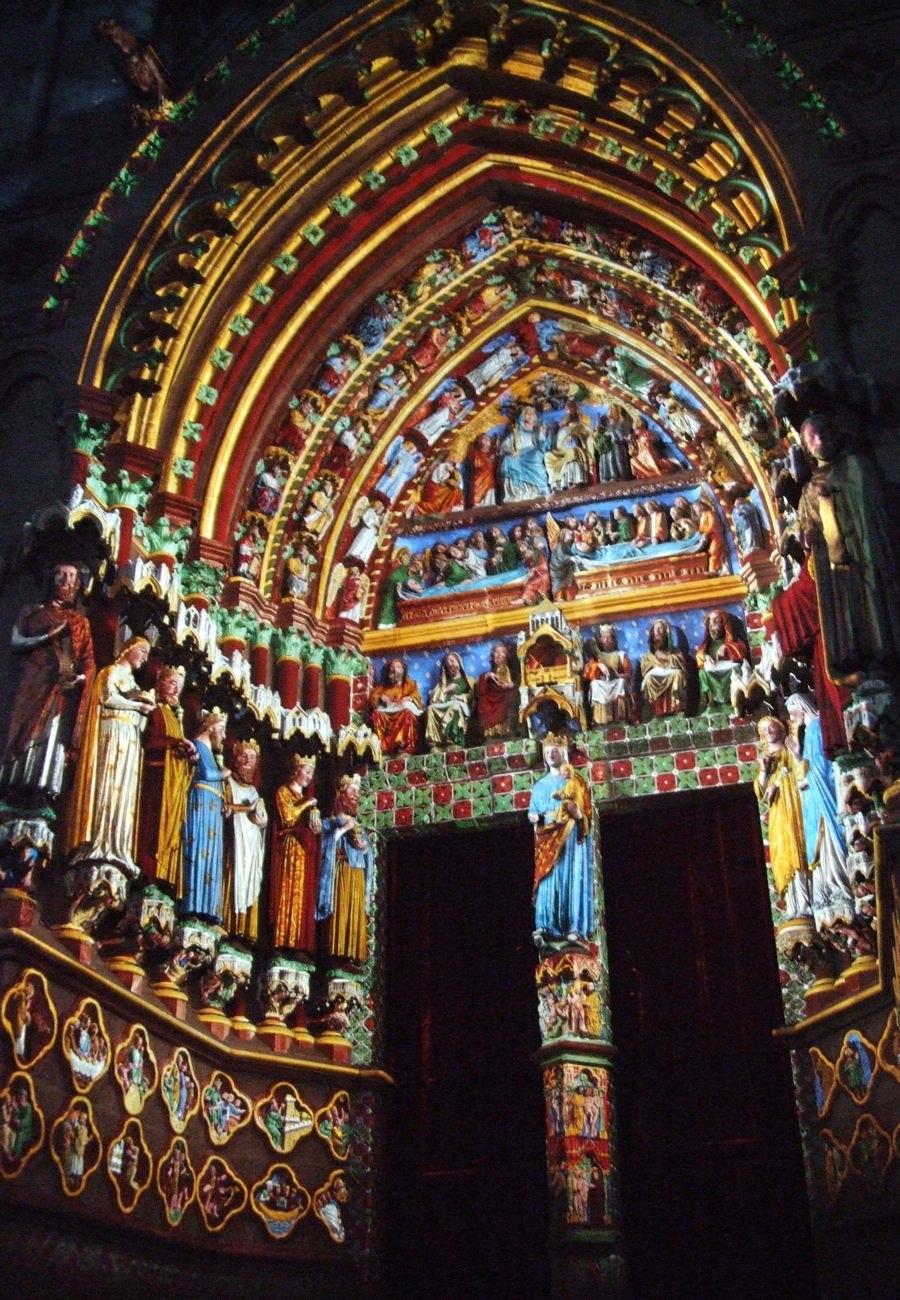 Amiens cathedral Son et lumière 002