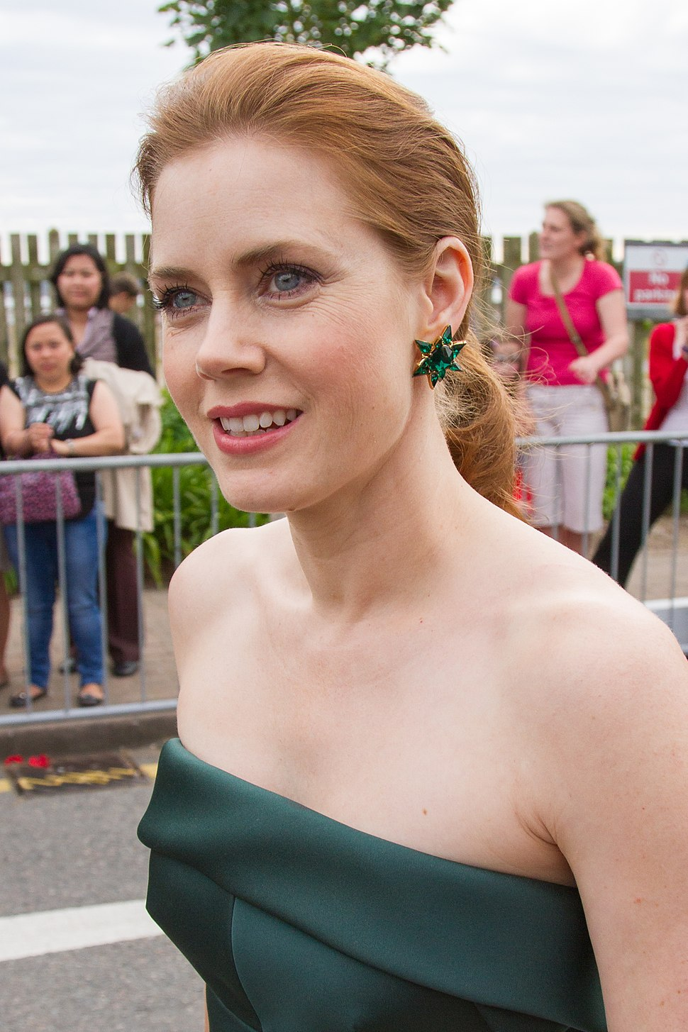 Amy Adams in St Helier, Jersey