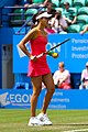 Ana Ivanovic Eastbourne 2011 Preparing Serve.jpg