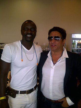 Anand Raj Anand - Anand Raj Anand with Akon