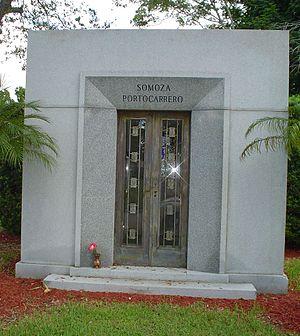 Anastasio Somoza Debayle - Somoza family mausoleum