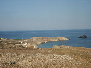 Kavaloi - Anavatis island (right in the picture)