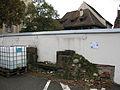 Andlausches Haus in Freiburg, Grundstücksmauer auf alter Kellerwand.jpg