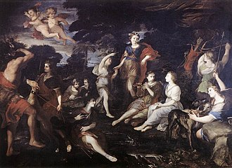Andrea Camassei - Image: Andrea Camassei The Hunt of Diana WGA03792