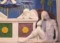 Andrea della robbia, resurrezione coi santi bartolomeo e bernardo, 1500-1525 ca. 05.JPG
