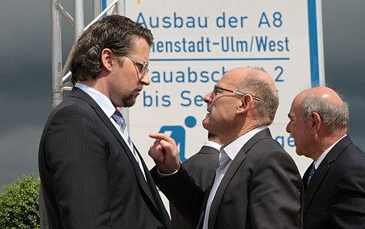 Andreas Scheuer und Winfried Hermann 20120507