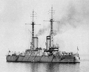 Russian battleship Andrei Pervozvanny - Image: Andrei Pervozvannyy 1912Reval