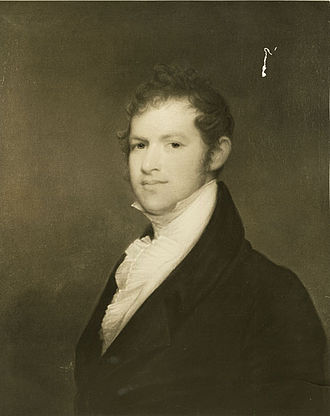 Andrew Dexter Jr. - Photo of Andrew Dexter portrait by Gilbert Stuart in 1808.