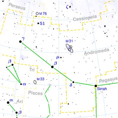 Luokka:Andromedan tähdistö - Wikiwand