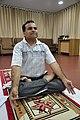 Anil Shrikrishna Manekar in Kapalabhati - International Day of Yoga Celebration - NCSM - Kolkata 2015-06-21 7430.JPG