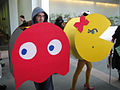 Anime Expo 2010 - LA - Ms Pac-Man and ghost (4836635185).jpg