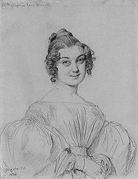 Anne-Joséphine-Cécile Raoul-Rochette, by Jean-Auguste-Dominique Ingres.jpg