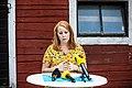 Annie Lööf 2018-08-01 Tarby Gård (43860799691).jpg